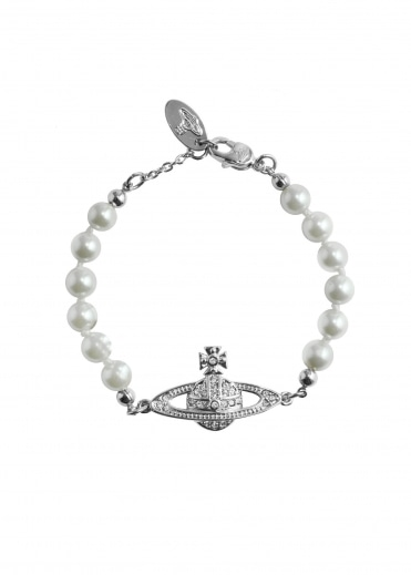 Mini Bas Relief Bracelet - Rhodium
