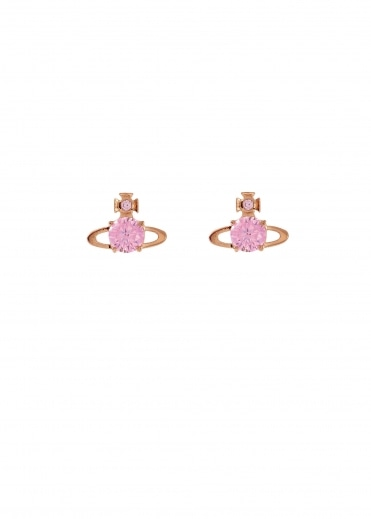 Reina Earrings - Pink Gold