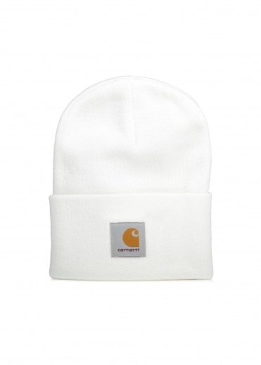Acrylic Watch Hat - White