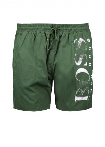 Octopus Shorts - Dark Green
