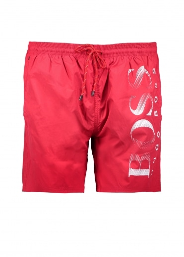 Octopus Shorts - Medium Red