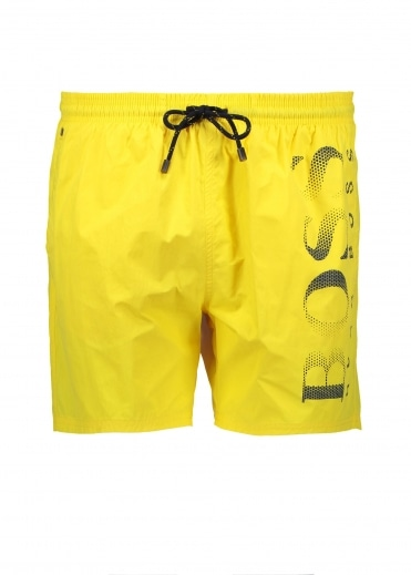 Octopus Shorts - Medium Yellow