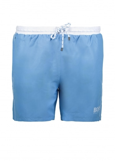 Starfish Shorts - Pastel Blue