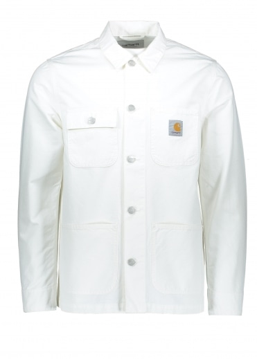 Michigan Chore Coat - White