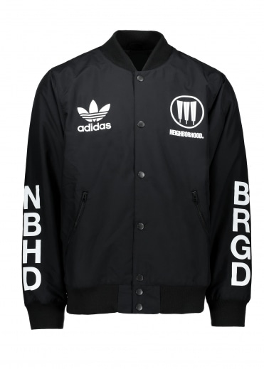 x Neighborhood Stadium Jacket NBHD - Black