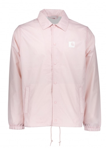 Sports Coach Jacket - Soft Rose