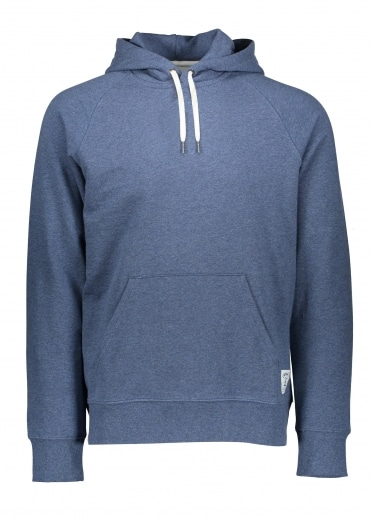 Hooded Holbrook LT Sweat - Stone Blue