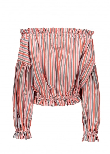 Art Chemise - Orange Stripe
