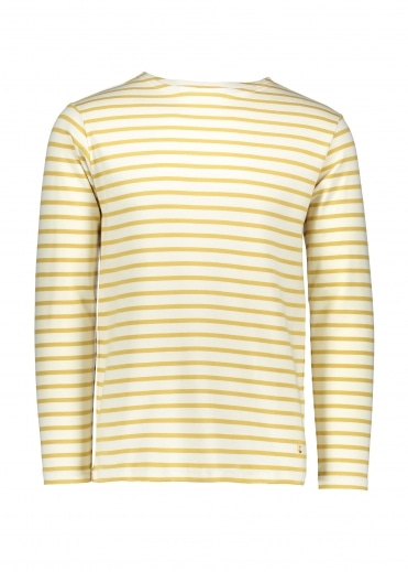 Heritage Breton Shirt LS - Nature/Yellow
