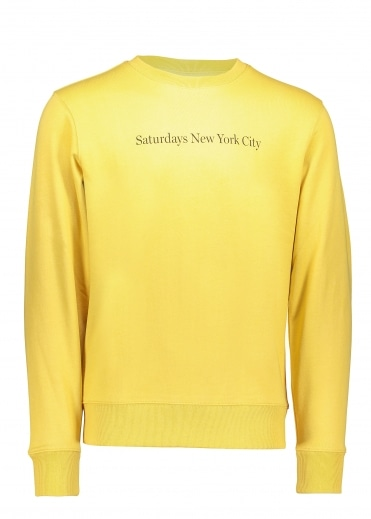 Bowery Crew Sweatershirt - Dusty Amber