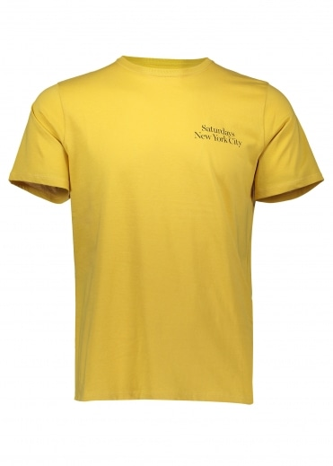 Miller Standard Chest SS Tee - Dusty Amber