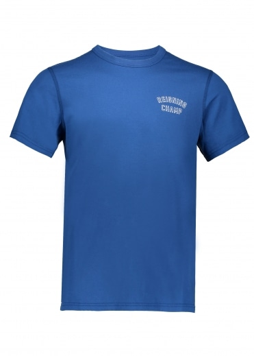 Varsity T-Shirt Court - Blue/White