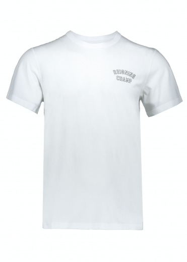 Varsity T-Shirt - White/Black