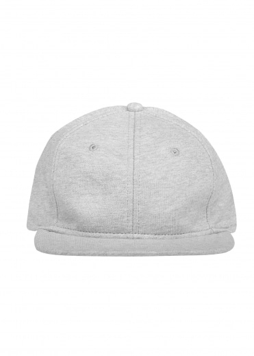 Terry 6 Panel Hat - Grey