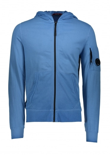 Hooded Zip Sweat Dazzling Blue