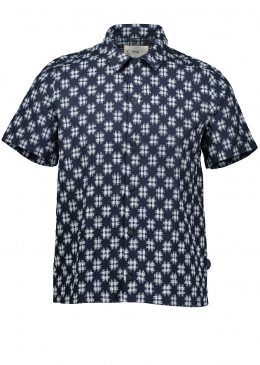 Gabe Shirt - Indigo Check
