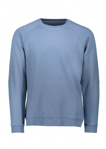 Rivet Sweat - Denim Blue