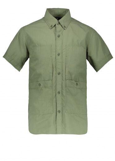 Cotton Rip Stop Shirt - Olive
