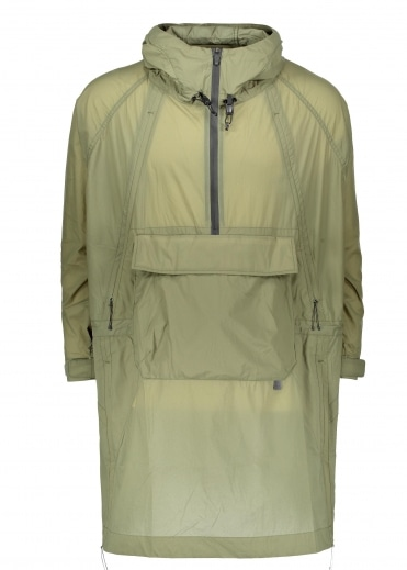 Rain & Wind Resistant Poncho - Olive