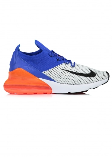 Air Max 270 Flyknit - White / Blue