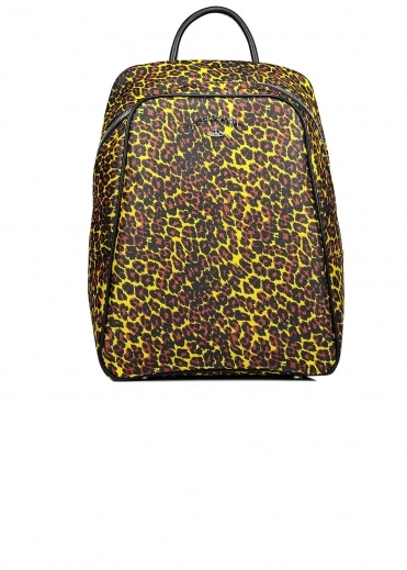 Leopard Backpack - Yellow
