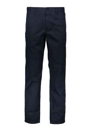 Aros Light Twill Trousers - Dark Navy