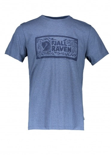 Logo Stamp Tee - Uncle Blue