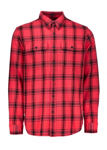 Scout Shirt - Red / Black