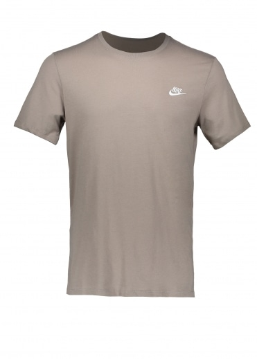 Embroidered T-Shirt - Sepia Stone