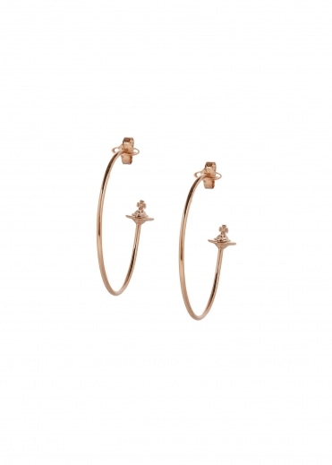 Rosemary Earrings - Pink Gold