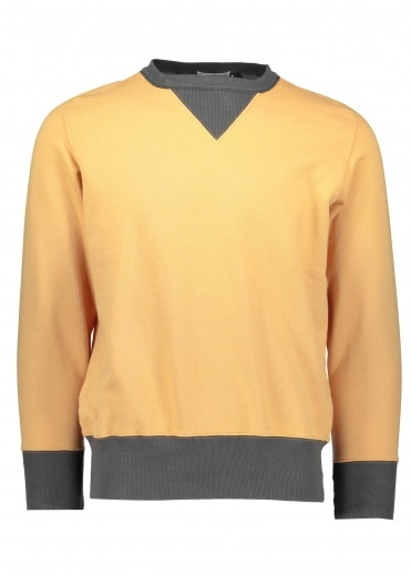 Bay Meadows Sweatshirt - Faded Orange / Black