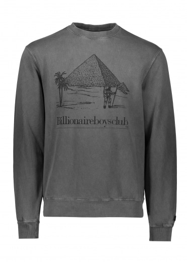 Pyramid Crew Neck - Black