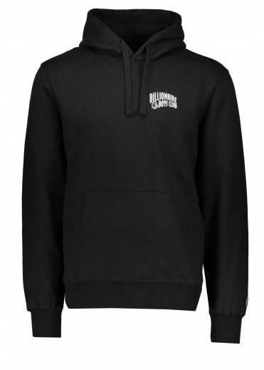 Arch Logo Hooded Sweat - Black