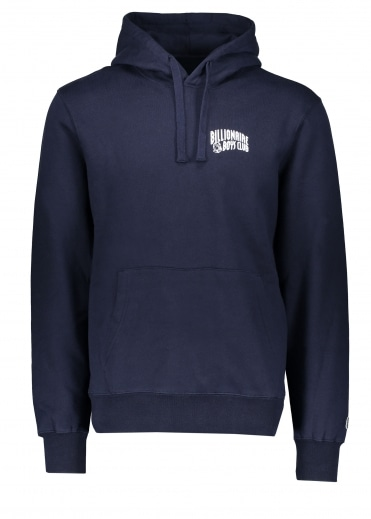 Arch Logo Hooded Sweat - Navy