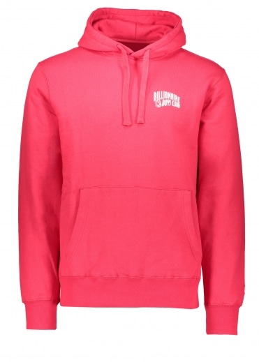 Arch Logo Hooded Sweat - Red