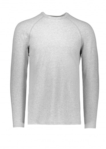 Knit Mesh Jersey - Heather Grey