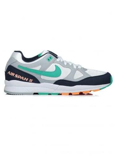Air Span II - Wolf Grey / Green