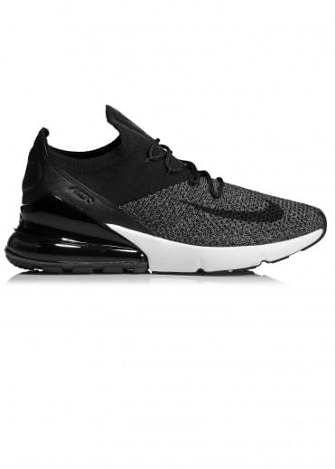 Air Max 270 Flyknit - Black / White