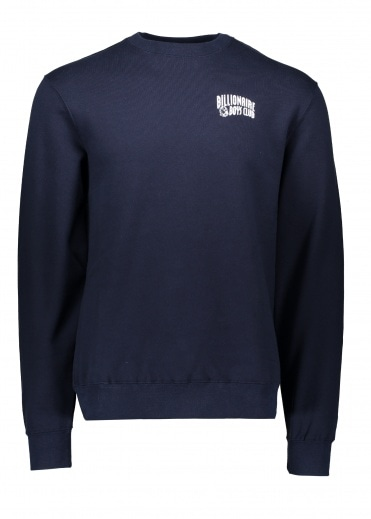 Small Arch Logo Sweater - Navy