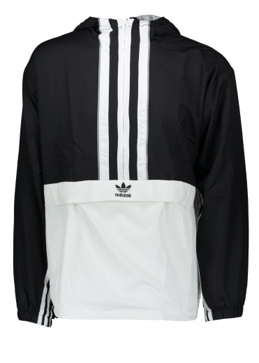 80b0afdec Authentic Anorak - Black   White. adidas Originals Apparel ...