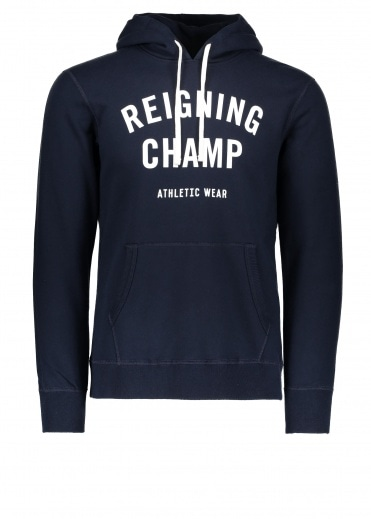 d21d038782e Terry Gym Logo Hoodie - Navy   White. Reigning Champ ...