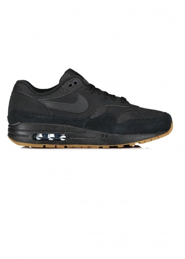 Air Max 1 - Black / Gum Brown