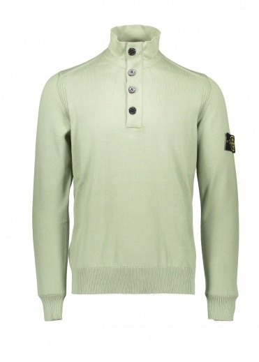 b04c787d21fe Button Up Knit - Sage · Stone Island ...