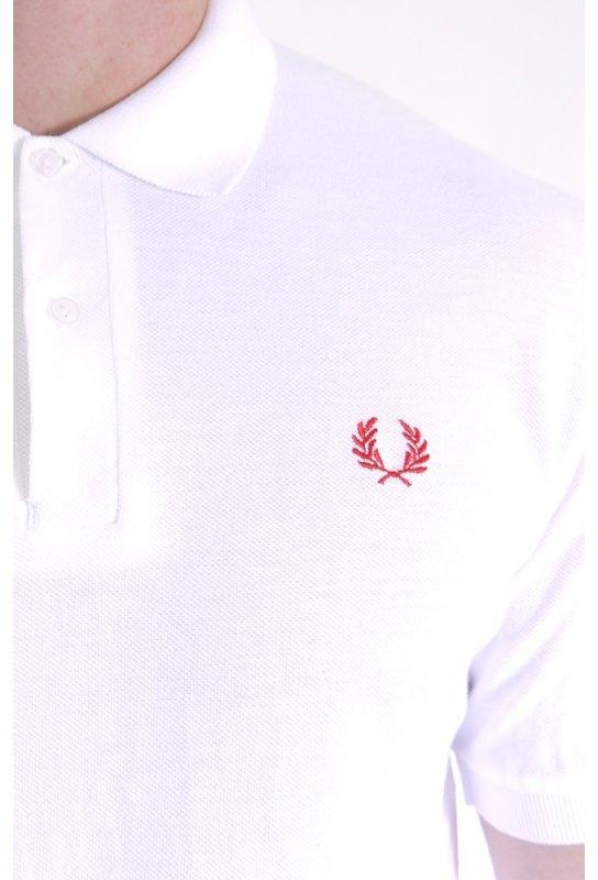 f81c1547f Fred Perry Blank Canvas 1963 Northern Soul Polo White   Triads