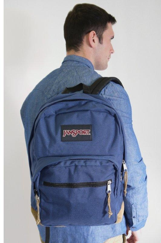JanSport Heritage Right Pack Original Navy Backpack  b7b891a7bb