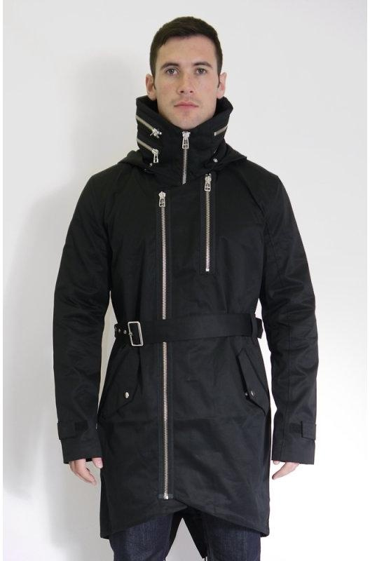 Adidas SLVR Fishtail Parka Black | Buy Adidas SLVR Fishtail Parka ...