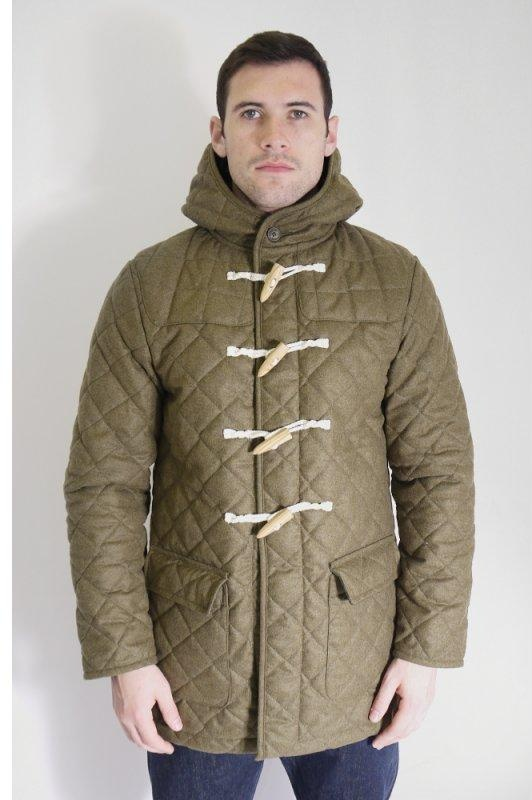 Dovercourt Wool Quilted Duffle Jacket