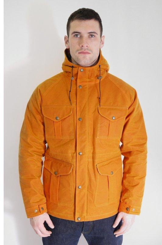 Filson Black Label Fisherman Parka Jacket Orange | Triads