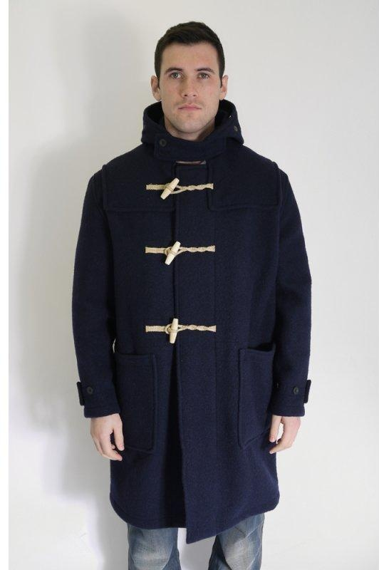 Gloverall Monty Duffle Coat with Union Jack Lining | Triads