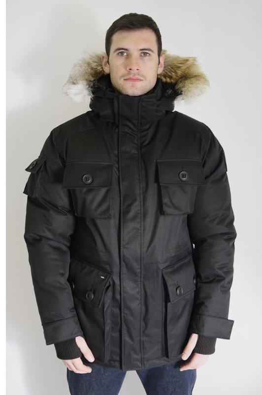 Barry Down Parka Black